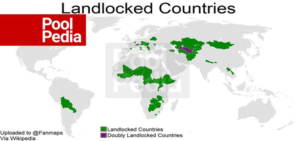 کشورهای محصور در خشکی