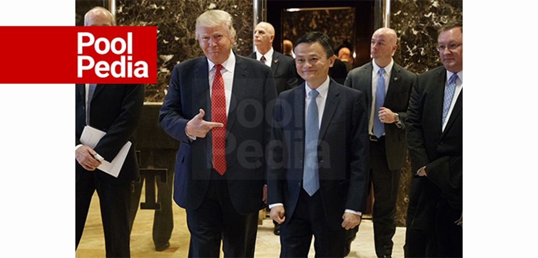جک همراه رئیس جمهور ترامپ