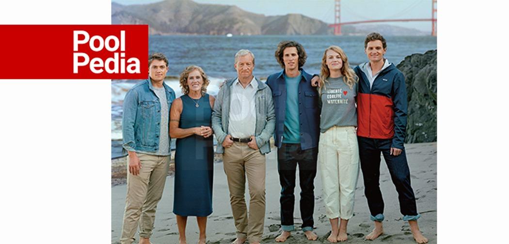 استایر در کنار خانواده اش